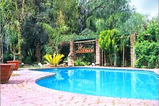 Großer Poolbereich